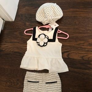 (3) Piece Janie and Jack Outfit